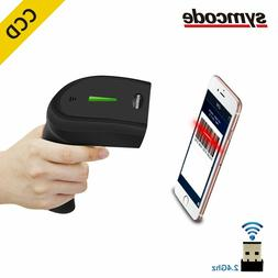 CCD Wireless Barcode Scanner 30-100 meters Transfer Distance