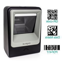 Desktop 2D 1D QR Barcode Scanner Platform Automatic Hands-fr