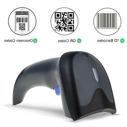 Durable 2D Barcode Scanner with 32-bit Processor, Wired+ Wir