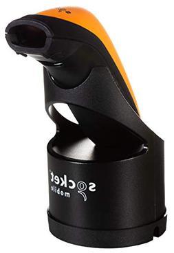 DuraScan D700, 1D Barcode Scanner, Orange & Charging Dock
