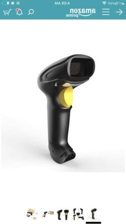 Esky ES016 2.4G Wireless 1D Barcode Scanner USB Wired Mode a