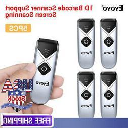 EY-015C Eyoyo 2.4G Wireless Bluetooth Barcode Scanner for iP