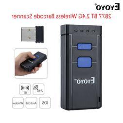 Eyoyo MJ2877 Laser Wireless Bluetooth 4.0 1D Barcode Code Sc