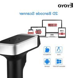 <font><b>Eyoyo</b></font> 2D QR Wireless <font><b>Barcode</b