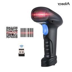 Aibecy Handheld 1D2D/QR Barcode Scanner Gun Bar Code Reader