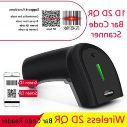 Symcode Handheld 2.4Ghz Wireless Barcode Scanner 1D 2D QR La