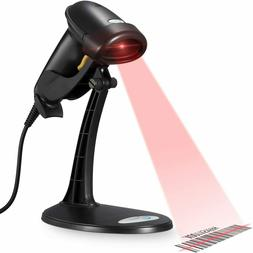 handheld barcode scanner wired w adjustable stand