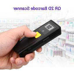 Handheld Bluetooth 2D Barcode Scanner Bar Code Reader With S