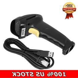 Handheld Portable 1D Laser USB Barcode Scanner Label Reader