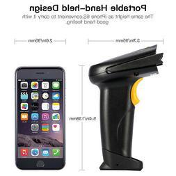 Handheld Wireless BT 4.0 & USB Port Laser Barcode Scanner Ba