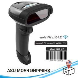 Handheld Wirelress Barcode Scanner QR Bar Code Reader for IO