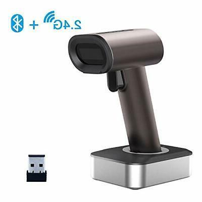 1d 2d qr bluetooth wireless barcode scanner