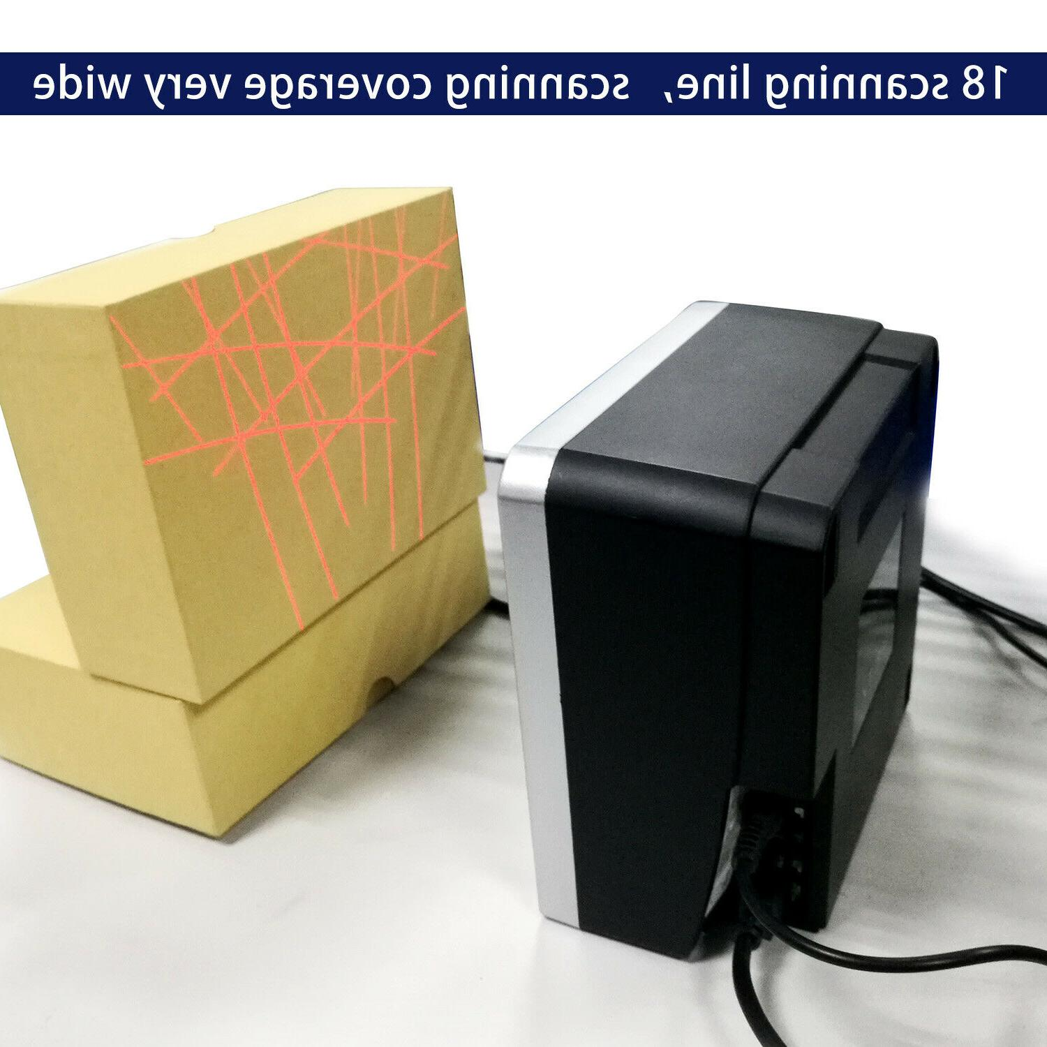 1D Scanner Omnidirectional Automatic Barcode Reader