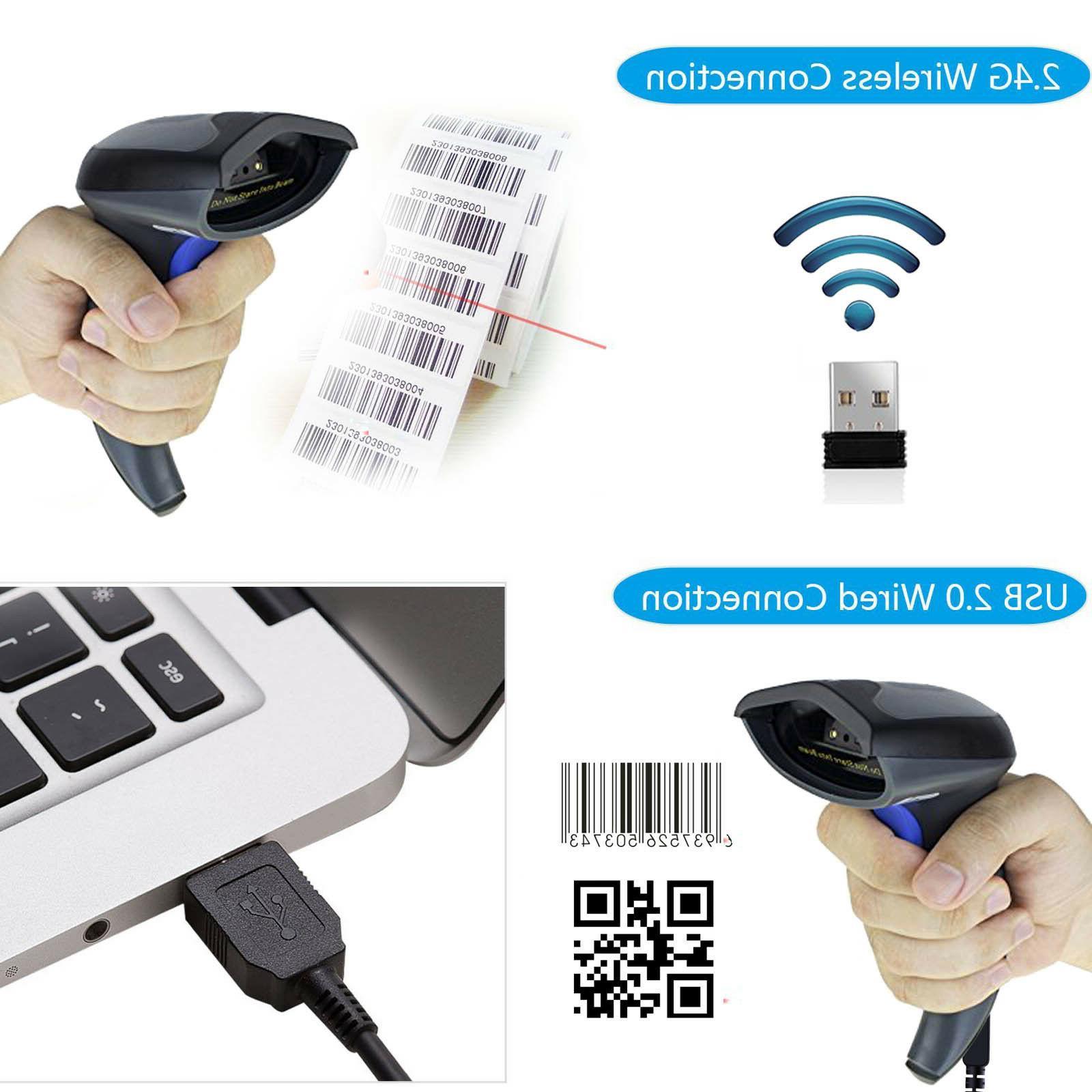 Wireless Scanner Handheld Laser