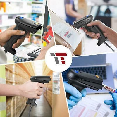 TaoTronics 2.4G Handheld Barcode Scanner Ki...