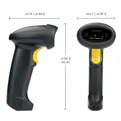 2.4GHz USB WIFI Barcode Scanner Handheld