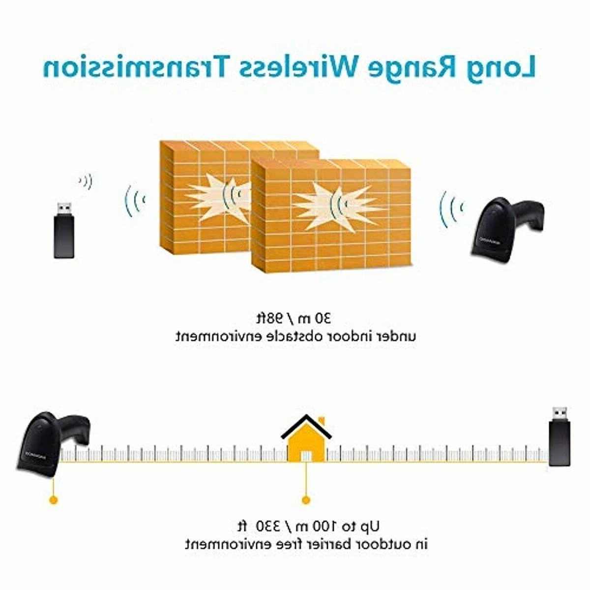 NADAMOO 2.4GHz Scanner