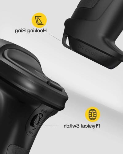 2.4GHz Wireless Scanner 2600mAh Battery BCST-60 Black
