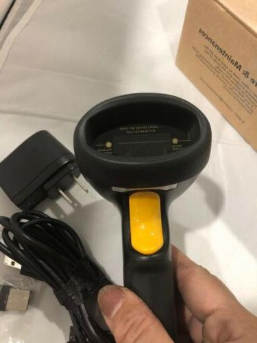 TEEMI 2.4GHZ DimenSional Barcode Scanner 2.4G TMCT-07