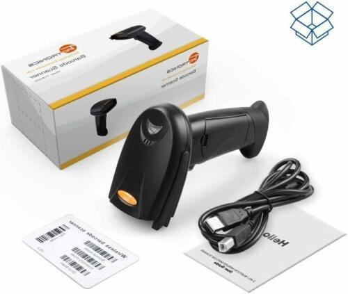 TaoTronics Handheld 2-in-1 Bluetooth USB Barcode Scanner Rea