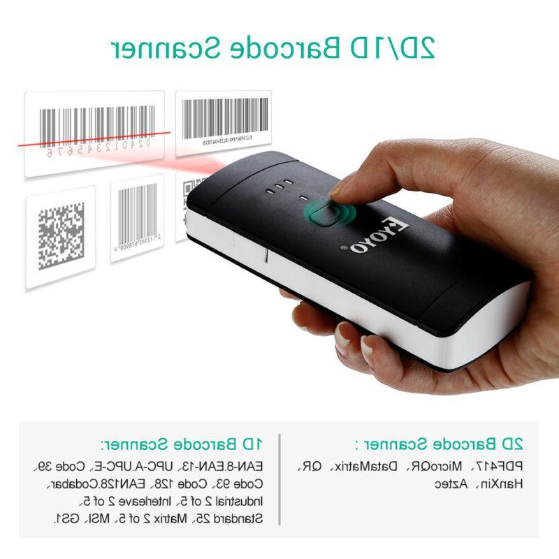 Eyoyo 2D/1D/QR Bar Reader Large Capacity