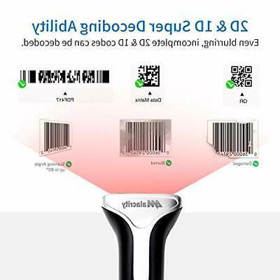 Alacrity Barcode Scanner,QR Datamatrix PDF417,2in1