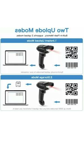 NETUM 2D Barcode 2.4G & Wired Connection