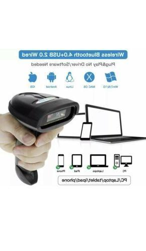 NETUM Barcode 2.4G Bluetooth & Wired NT-1228BC