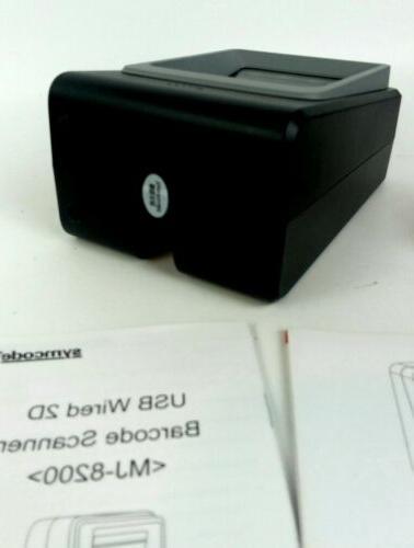 2D Barcode Scanner,Symcode USB Barcode Reader bn1