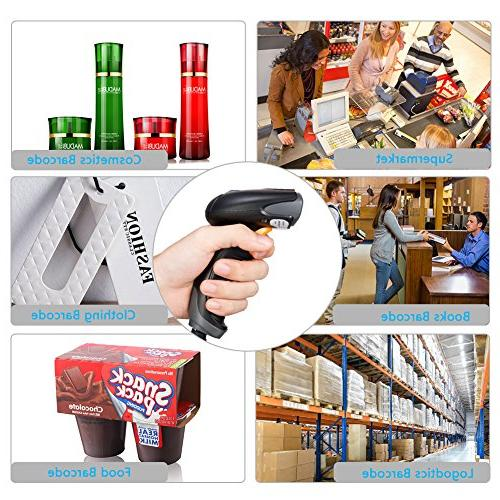 Bluehresy 2D Barcode Datamatrix Handheld for Screen and Bar Code POS