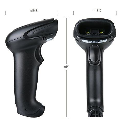 TaoHorse 2D Scanner Wired Reader for Payment Screen