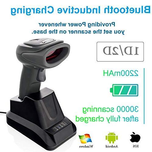 2d qr wireless bluetooth barcode