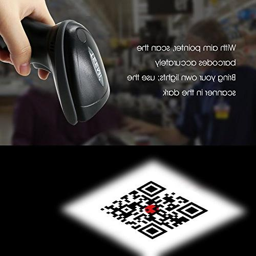 TEEMI Barcode Scanner for iPad iPhone QR, Read barcodes on