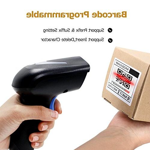 2D 2.4G CCD Reader with Transfer Distance for Mobile Payment