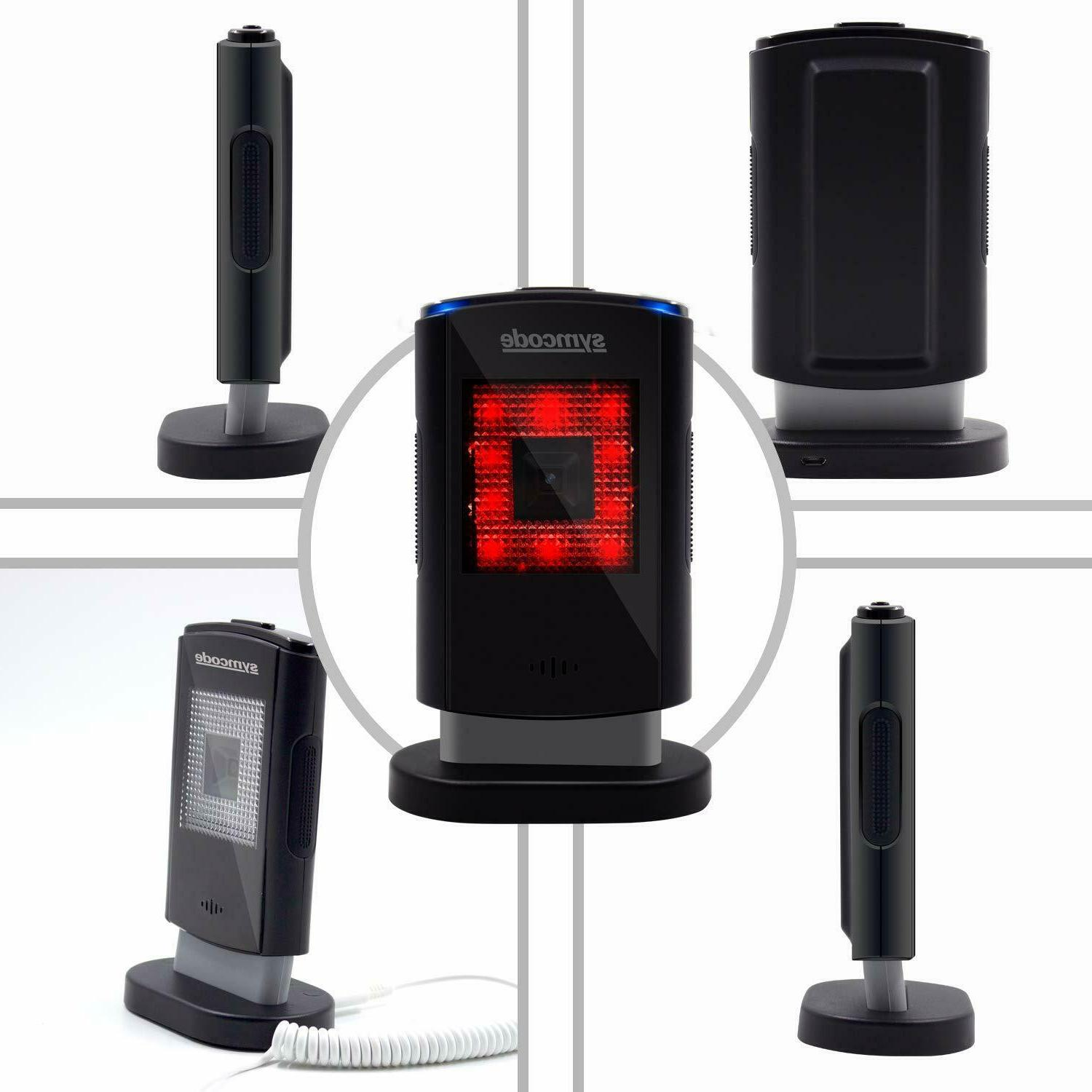 2DQR Barcode Symcode Omnidirectional Hands-Free Reader