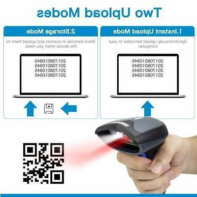 NETUM 3-in-1 1D/2D Wireless Barcode Scanner