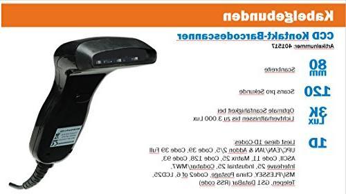 Manhattan 401517 Document Barcode Scanner