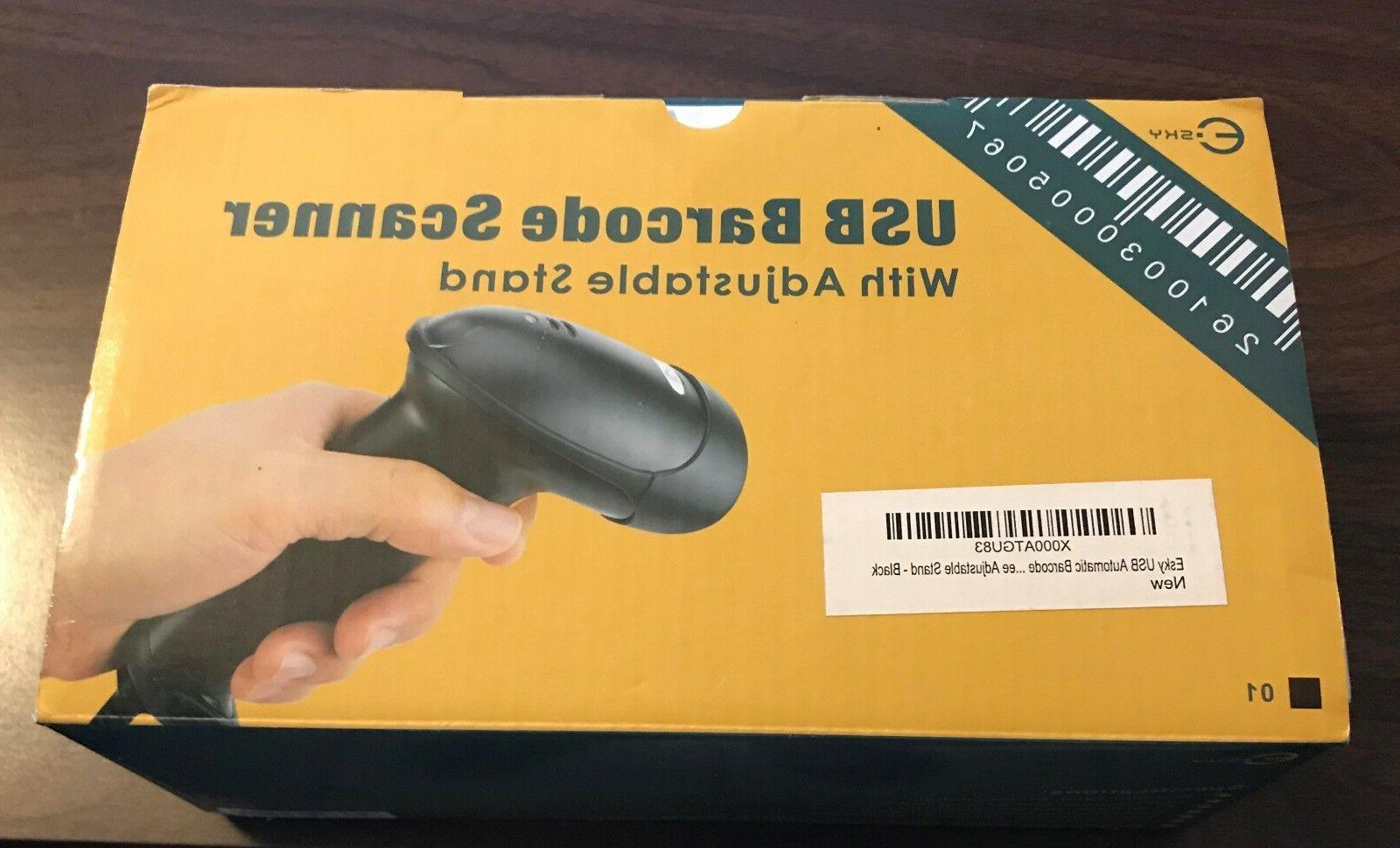 Esky USB Automatic Handheld Barcode Scanner/Reader With Free