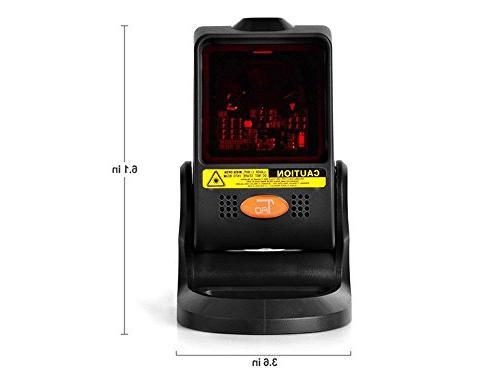TaoTronics Code Scanner with USB, mW,
