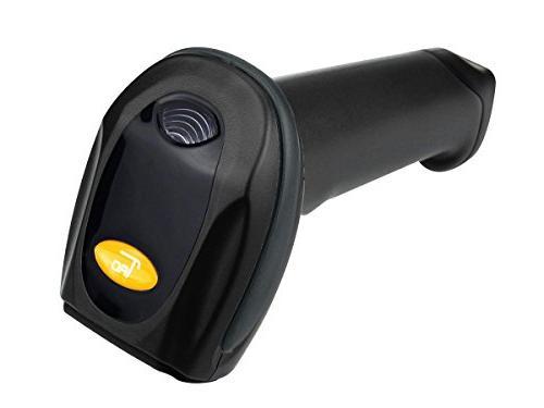 Barcode Reader 32-bit Decoder, Mobile Moveable, Optical Laser, USB Optional,