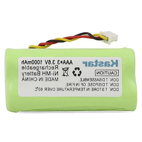 Kastar 5-PACK AAA Replacement 82-67705-01 BTRY-LS42RAAOE-01 Laser Barcode Scanner