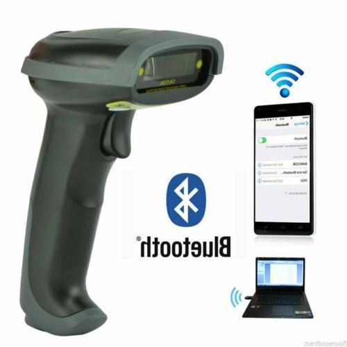 wireless bluetooth barcode scanner handheld usb receiver