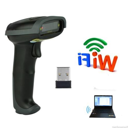 Automatic Laser Scanner Gun Code Reader Bluetooth