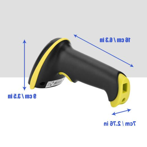 Automatic Laser Scanner Gun Bar Code Reader Bluetooth