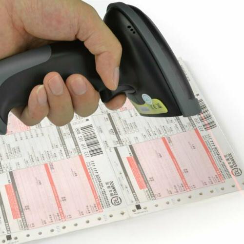 US Wireless/Wired Scanner Bluetooth Barcode Laser