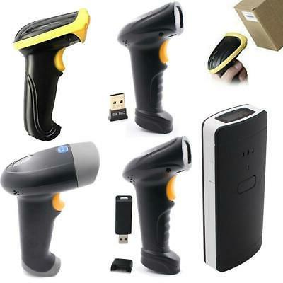 automatic wireless bluetooth barcode scanner gun handheld