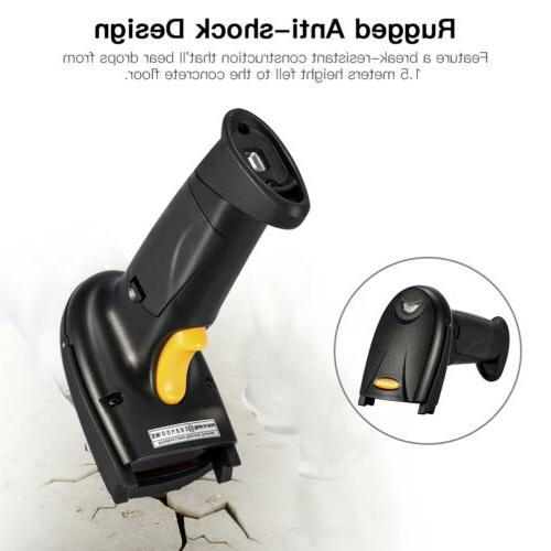 wireless automatic laser handheld barcode scanner usb