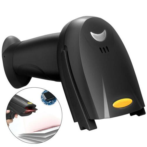 Automatic Wireless/Wired Bluetooth Barcode Reader