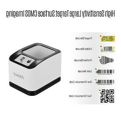 Aibecy 2200 1D/2D/QR Omnidirectional Screen Barcode Scanner