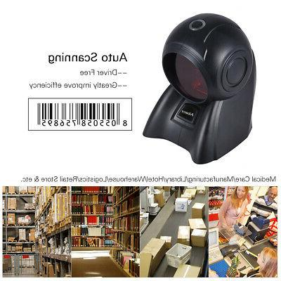 NEW Aibecy Omni directional 20 Lines 1D USB Orbit Barcode Sc
